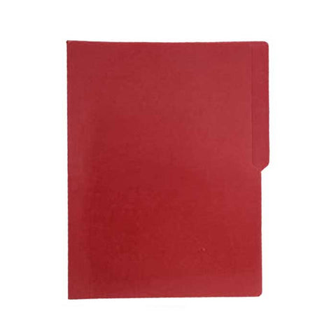 Colored Folder Short Red P/X Brand