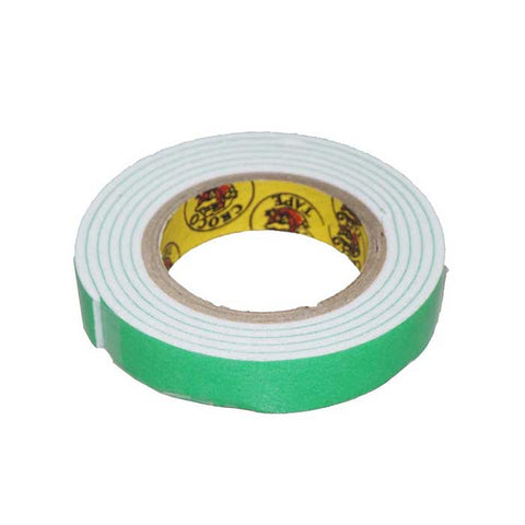 "Crocodile Double Sided Tape ½"" With Foam"