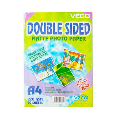 ELIT PHOTO PAPER MATTE DOUBLE SIDED 220gsm A4 / 10's