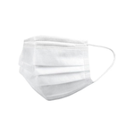 Earloop Face Mask 2-Ply White