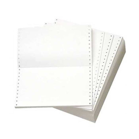 Genius Continuous Form 11 X 9-1/2 Carbonless 2 Ply