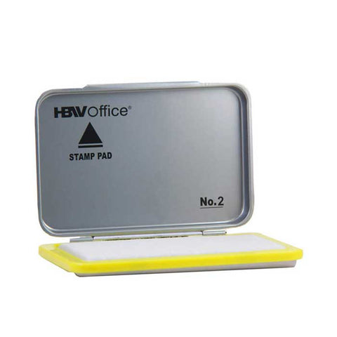 HBWOffice Stamp Pad Metal Case without ink Big