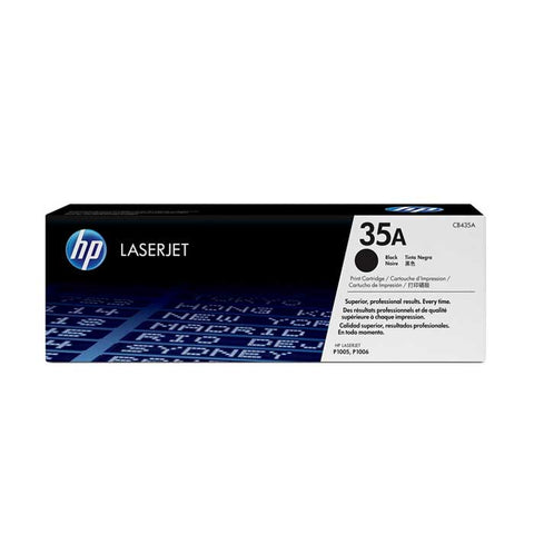 HP 35A (CB435A) Black Original LaserJet Toner Cartridge