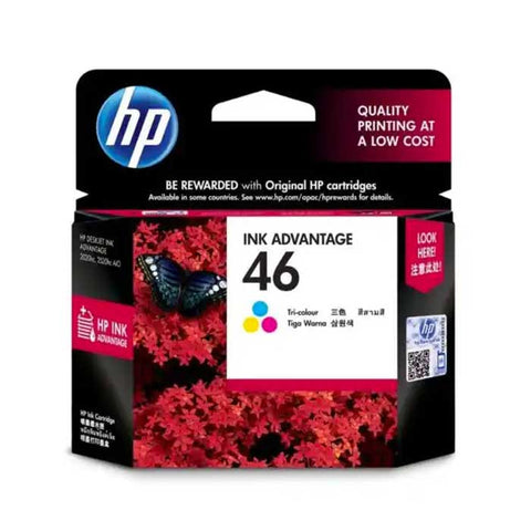 HP 46 Color Original Ink Advantage Cartridge