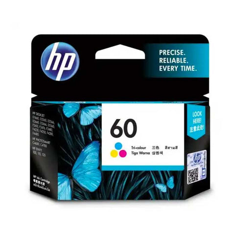 HP 60 Color Original Ink Advantage Cartridge