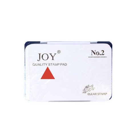 Joy Stamp Pad #2 with Ink Red