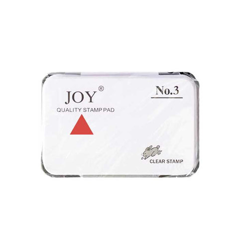 Joy Stamp Pad #3 with Ink Red
