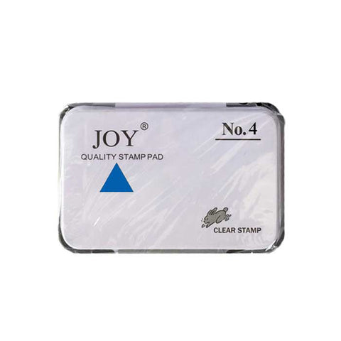 Joy Stamp Pad #4 with Ink Blue