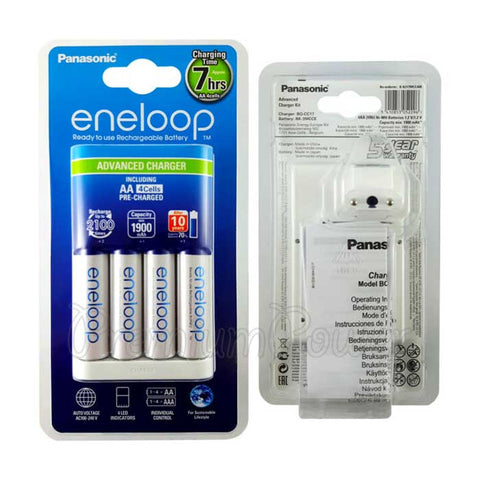 Panasonic Eneloop 4AA with Advance Charger