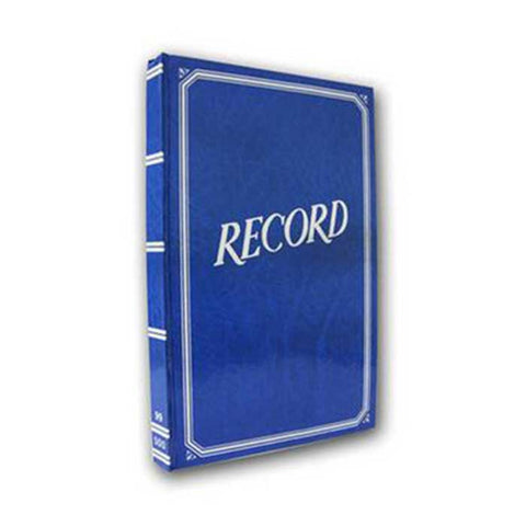 VECO RECORD BOOK #99 BLUE COVER 300PP