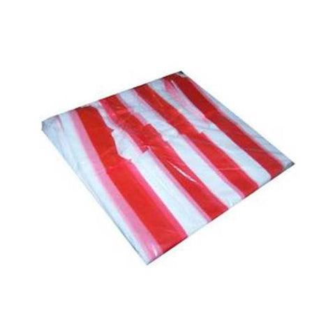 SANDO BAG XL STRIPES WHITE/RED 50'S