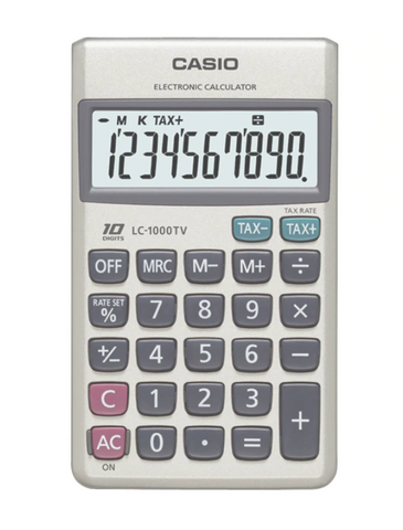 Casio LC-1000TV Pocket Calculator