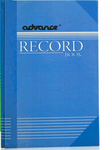 Advance Record Book 200PP Blue Cover