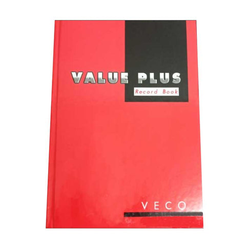VECO RECORD BOOK #99 RED COVER VALUE PLUS 200PP