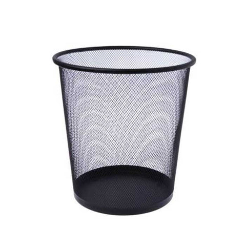 WIRE MESH WASTE CAN