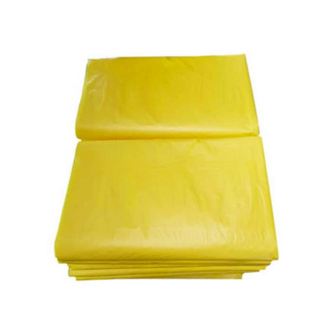 "Colored Trash Bag 15"" X 15"" X 37"" XL 100's Yellow"