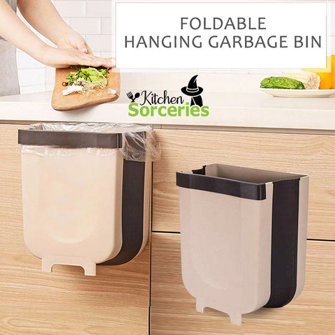 Hanging Trash Can - Kitchen Sorceries