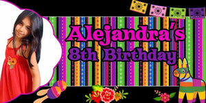 Pinata Birthday Banner