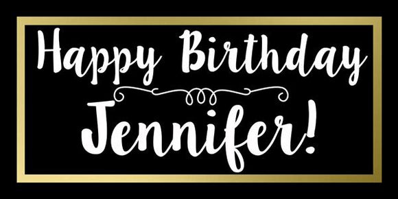Simple Birthday Banner