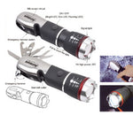 AMR 4X4 Multi Function Tool Flashlight