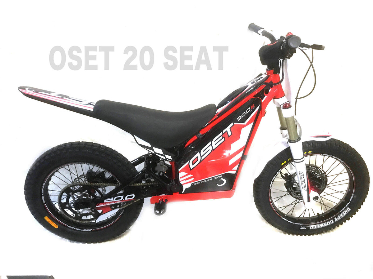 "Copy of Seat - padded to Suit Oset 20"" - Electric Dirt Bikes"