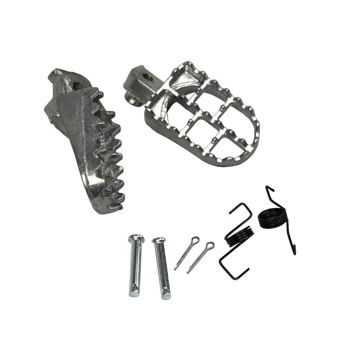 Surron/Segway Wide aluminium footpegs - Electric Dirt Bikes