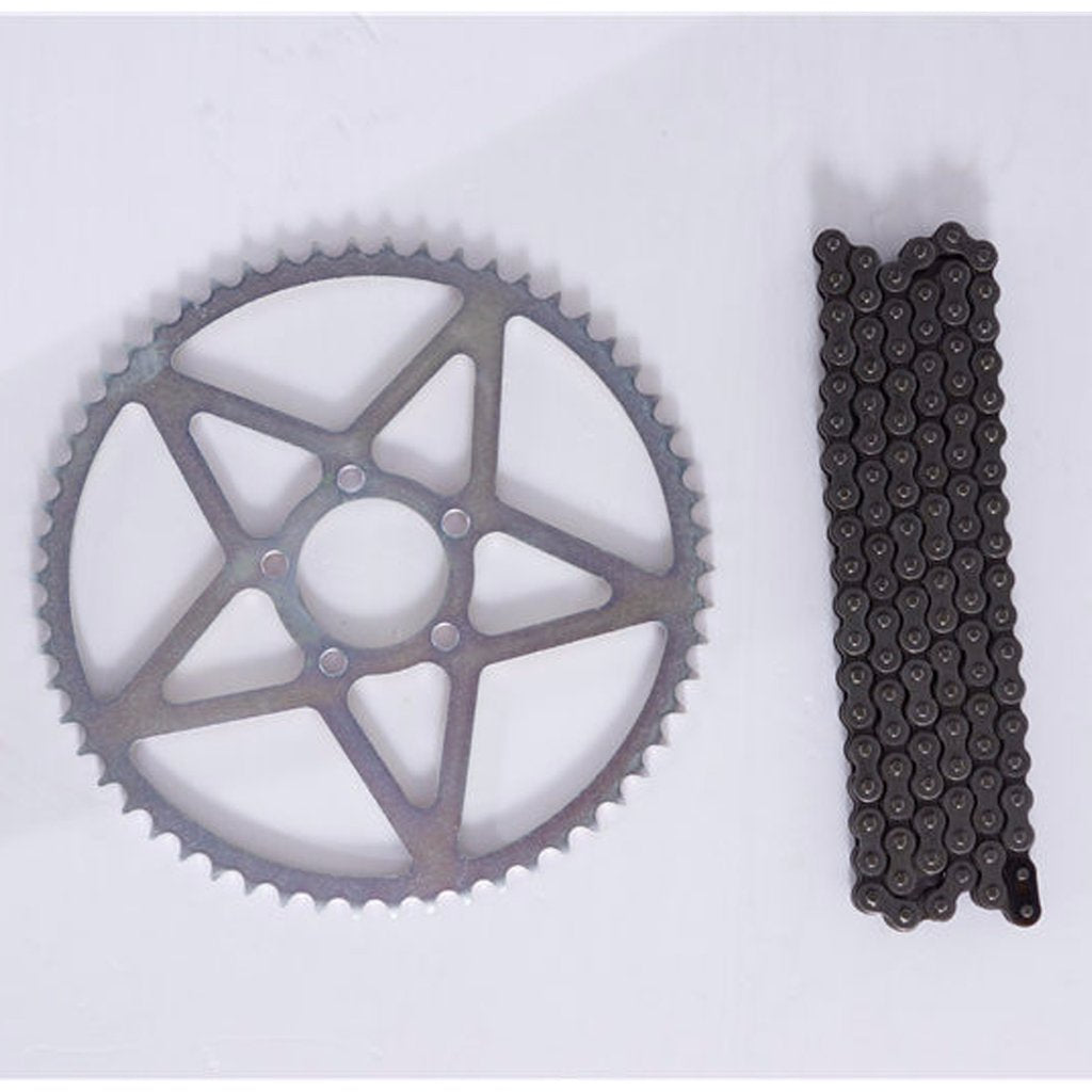 Surron Light Bee 58T Rear Sprocket and chain set - Electric Dirt Bikes