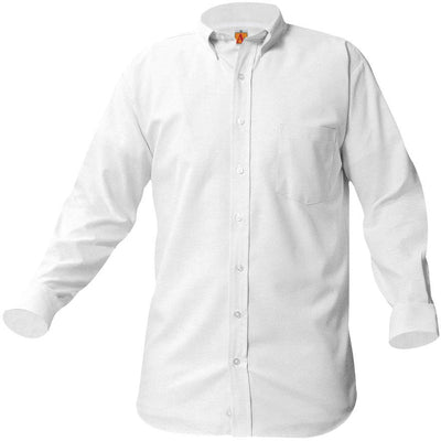 GLOBAL LONG SLEEVE OXFORD W/LOGO (8066GLOB)