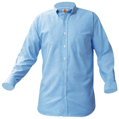 JDB LONG SLEEVE OXFORD W/LOGO (8066JDB)