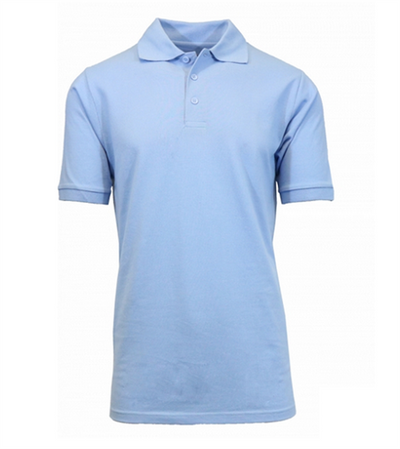 HAMILTON POLO AVAILABLE IN LIGHT BLUE AND YELLOW