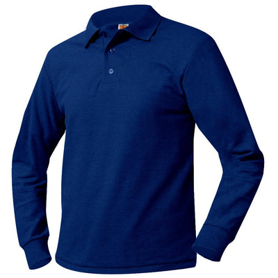 CHES LONG SLEEVE POLO W/LOGO (8748CHES)