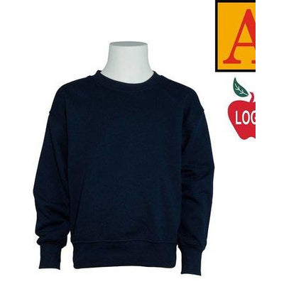 RUSSELL BYERS SWEATTOP - SELECT NAVY FOR GRADES K-5- SELECT GREY FOR GRADES 6-8