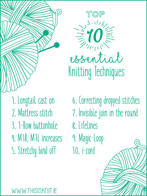 Top 10 Essential Knitting Techniques