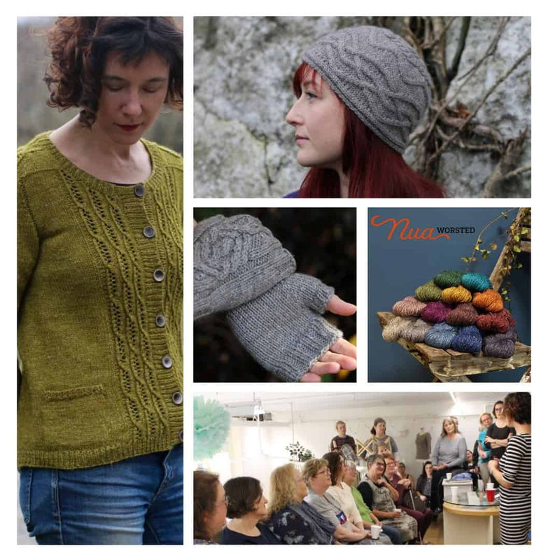 Nua Worsted Yarn Launch with Carol Feller