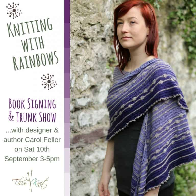 Knitting with Rainbows