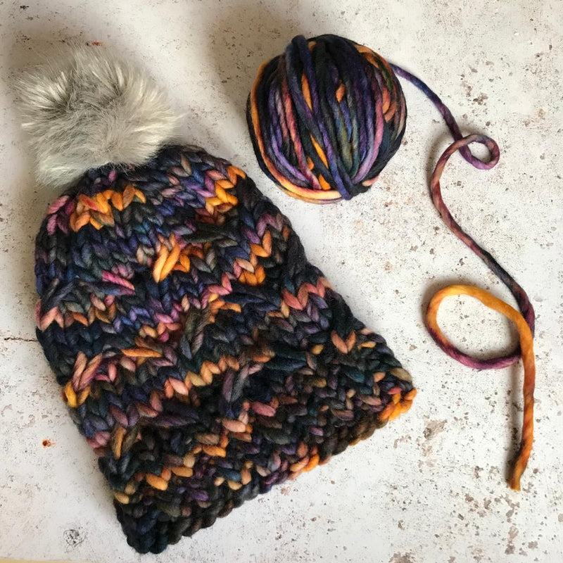 Knitting Inspiration: The Reef Beanie by Lizzy Knits