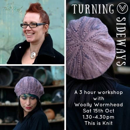 Turning to Texture - Two Workshops with Woolly Wormhead