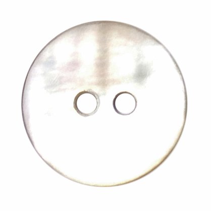 15mm Shell Button - Round | 2B\1763