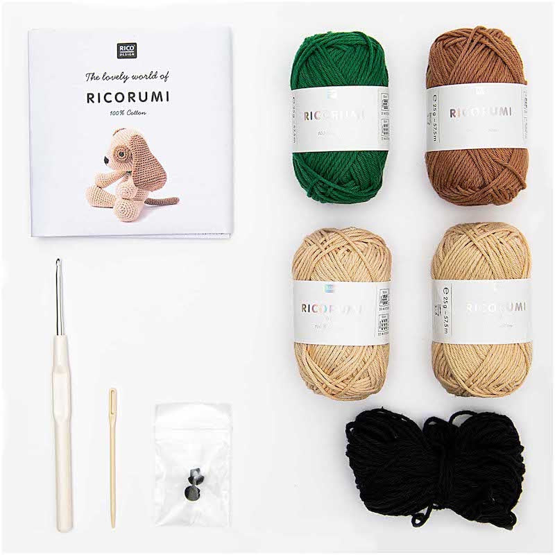 Ricorumi Crochet Kit - Puppy | Rico Design