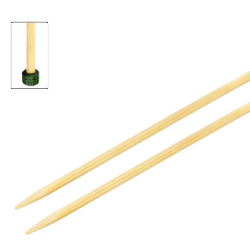 Bamboo Straight Knitting Needles - 33cm | KnitPro