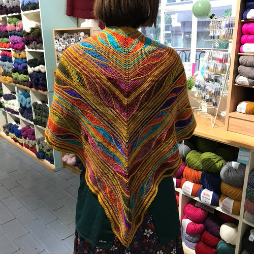 Butterfly Shawl Kit | Urth Yarns & CaMaRose