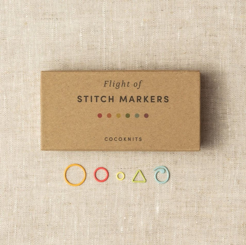 Flight of Stitch Markers | Cocoknits