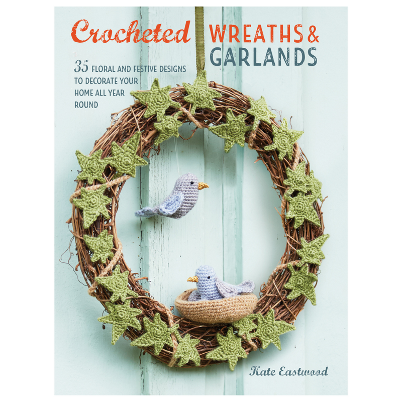 Crocheted Wreaths and Garlands | Kate Eastwood