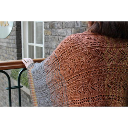 Filigree Shawl Kit | Norne Yarn