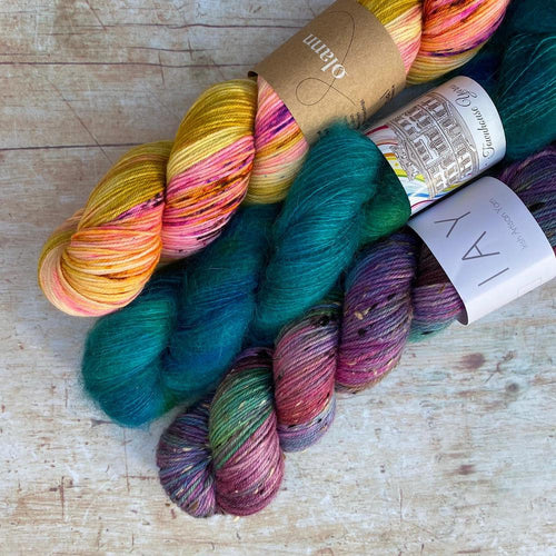 Irish Yarn Bundle | City Lights