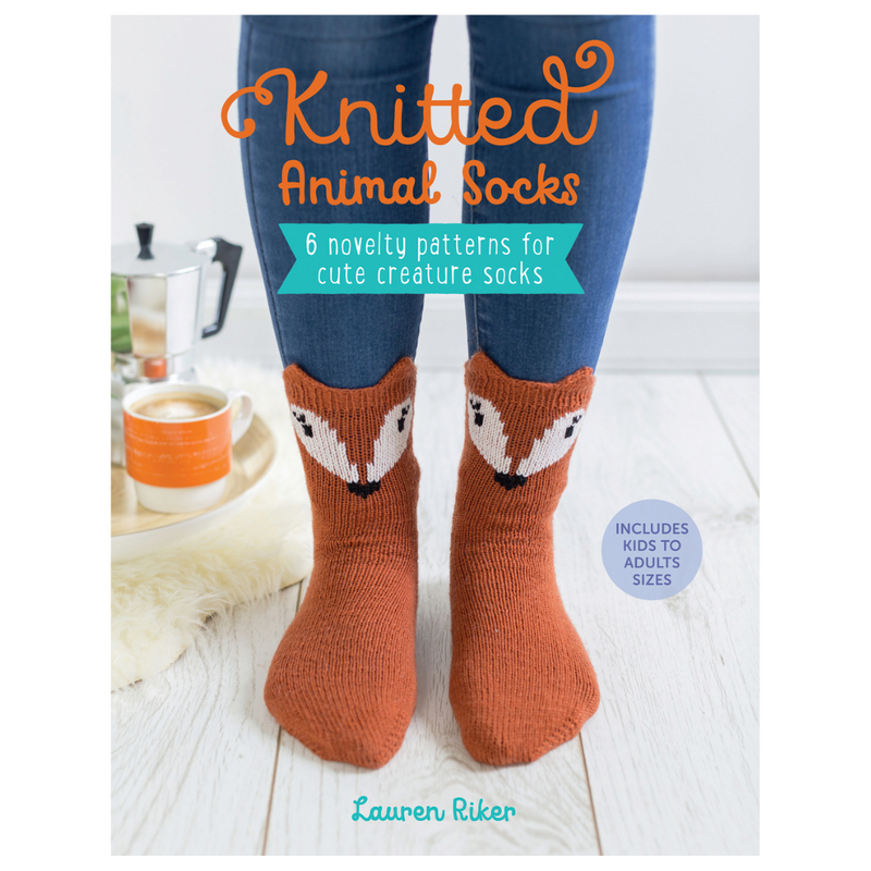 Knitted Animal Socks | Lauren Riker