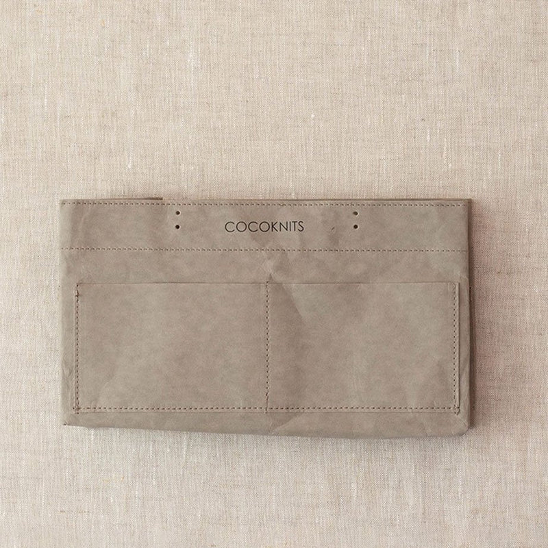 Cocoknits Kraft Caddy - Grey | Cocoknits