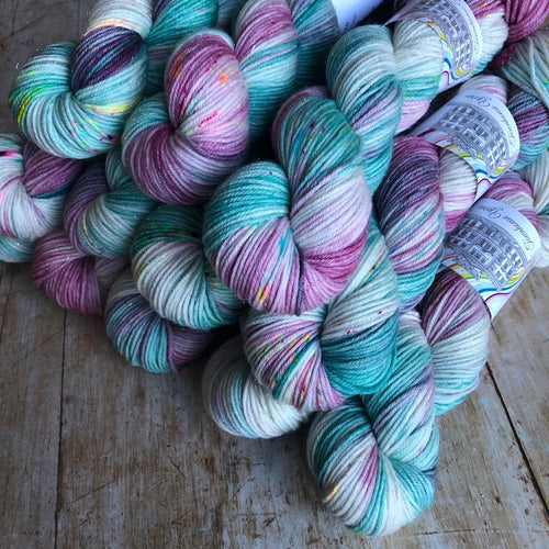 Christmas Cracker DK - Peppermint Frost | Townhouse Yarns