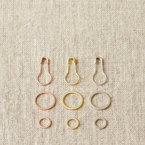Precious Metal Stitch Markers | Cocoknits