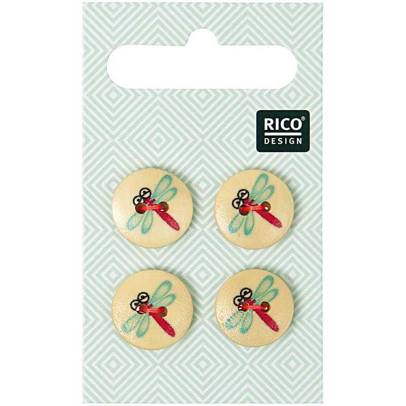 Dragonfly Buttons | Rico Design
